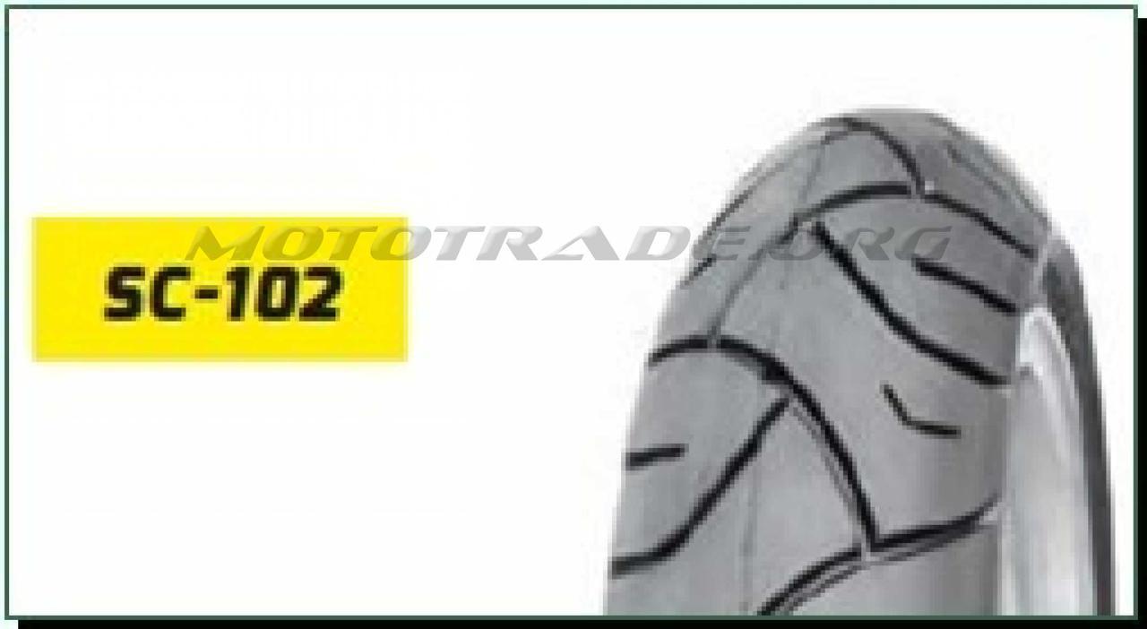 Мотошина   120/80 -16   TL (SC-102  TL  DELITIRE,бескамерная)   LTK, шт