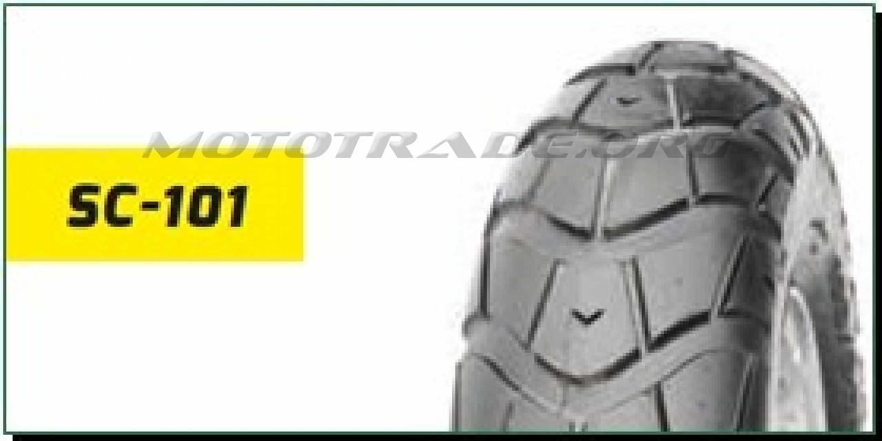 Мотошина 120/90 -10 TL (DELI S-101 TL,безкамерна) LTK, шт