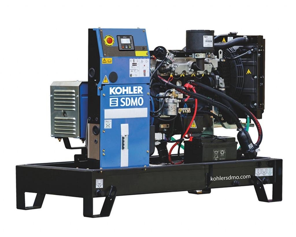Однофазный дизельный генератор SDMO K6M (6 кВт)