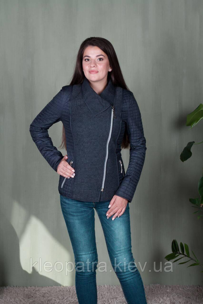 Демисезонная  твидовая женская куртка  Dianora
