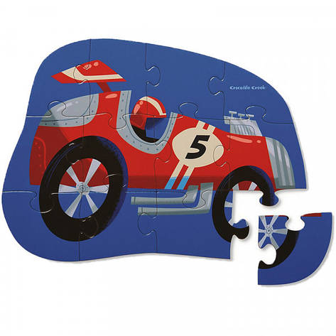 Mini Puzzle (12 элементов) Bertoy Гоночный автомобиль 384112-7 , фото 2