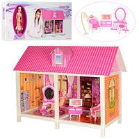Детский игрушечный кукольный домик для девочек