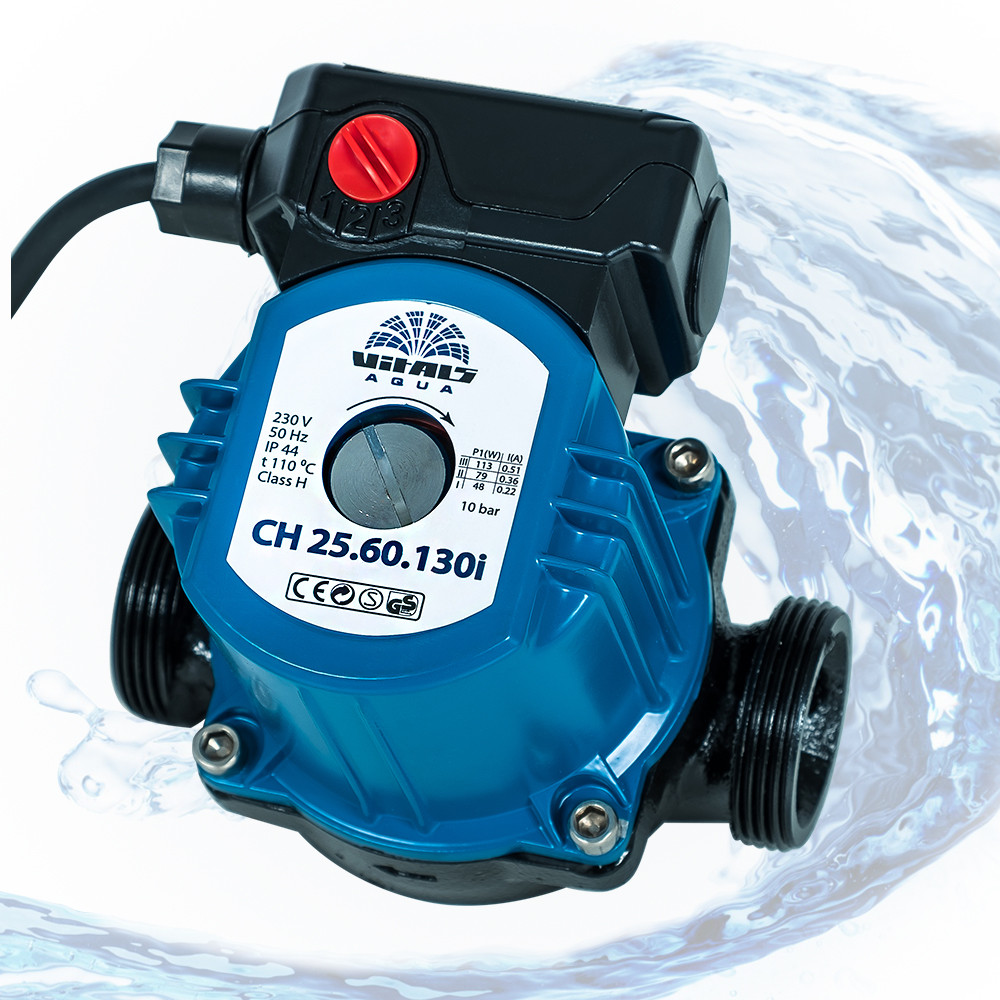 Насос циркуляционный Vitals Aqua CH 25.60.130i