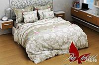 Полуторный комплект постельного белья ренфорс белья R4046
