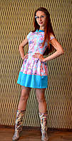 """Молодежное нарядное платье """"Весна 2"""", фото 1"""