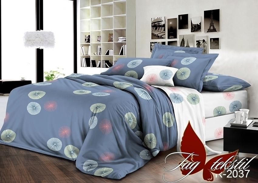 Семейный комплект постельного белья - ренфорс с компаньоном R2037-2