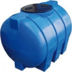 Емкость горизонтальная,объем 500 л. (1-слойная) Roto Europlast