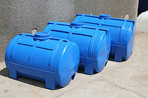 Емкость горизонтальная,объем 500 л. (1-слойная) Roto Europlast, фото 2