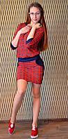 """Молодежное нарядное платье """" Двойка мишель"""", фото 1"""