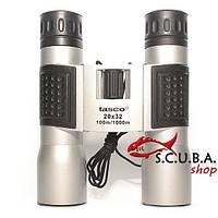 Бинокль TASCO 20x32 для спортивно-развлекательных мероприятий, охоты, туризма, рыбалки