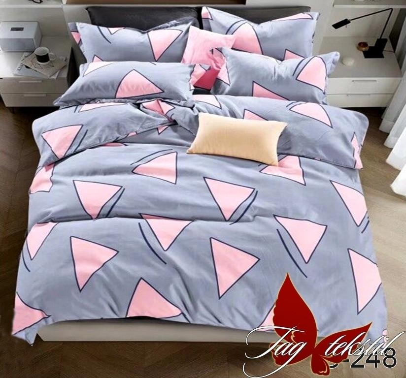 Полуторный комплект постельного белья с компаньоном S248