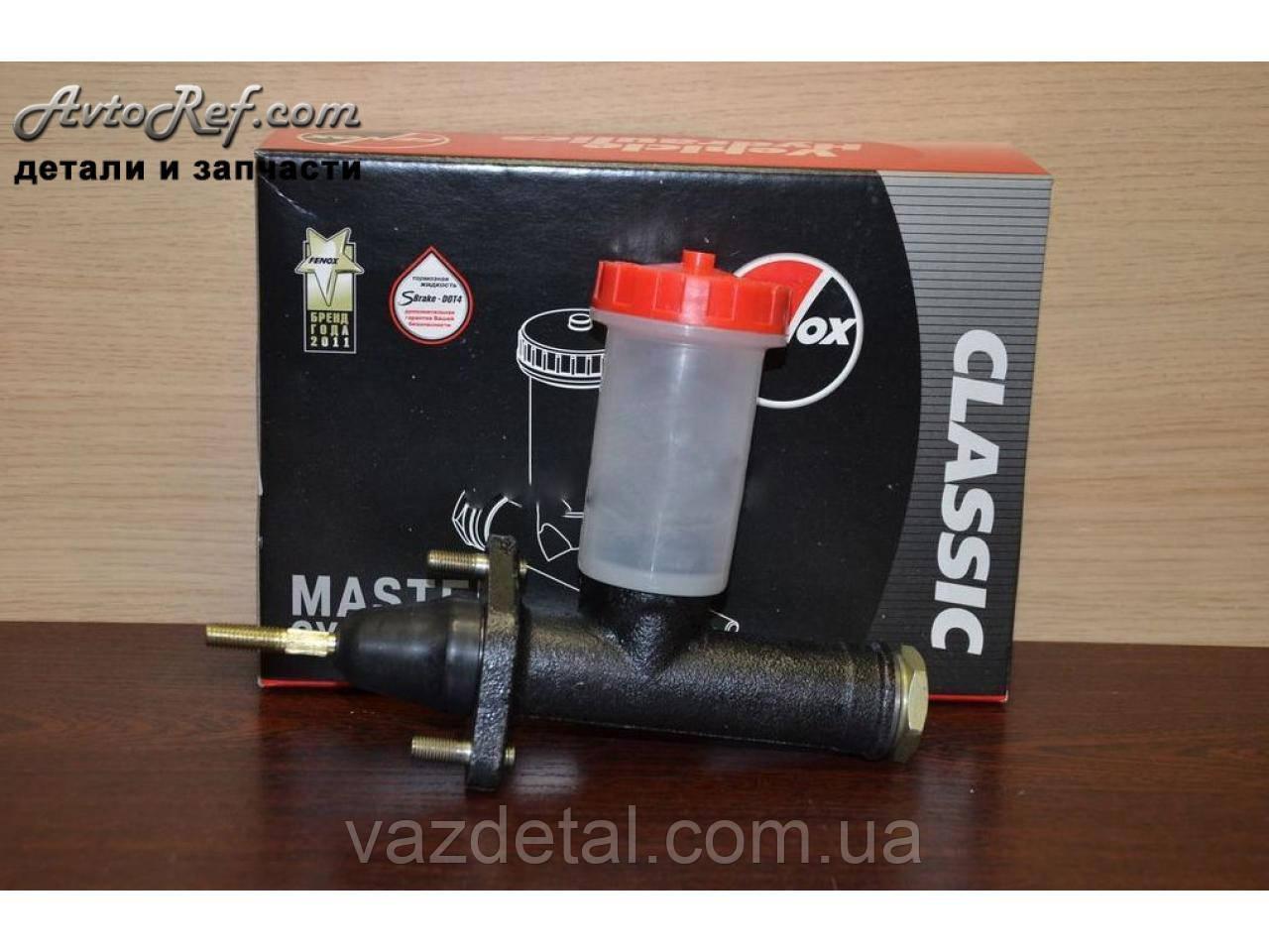 Цилиндр сцепление главный Волга Газель ГАЗ с бачком d=10 (Fenox) С2218.5С3