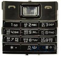 Клавиатура (кнопки) Nokia 8800 Sirocco Black