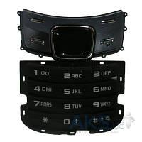 Клавиатура (кнопки) Samsung C6112 Black