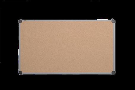 Доска пробковая ABC Office (100x65), в алюм.рамке S-line, фото 2
