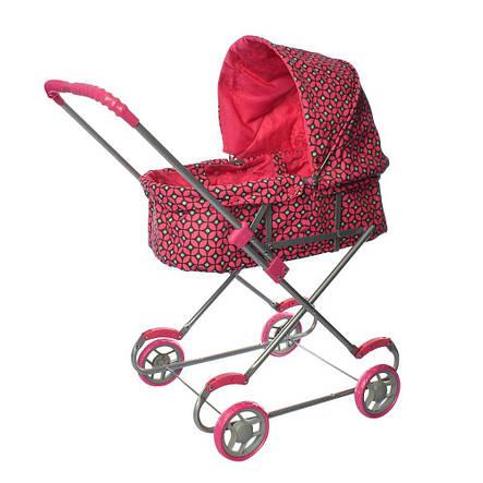 Кукольная коляска металлическая, классика, фото 2