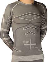 Термо-футболка с длинным рукавом из emana®+Dryarn для занятий спортом и фитнеса