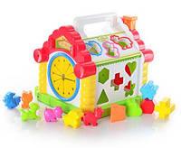 Детская развивающая игрушка домик
