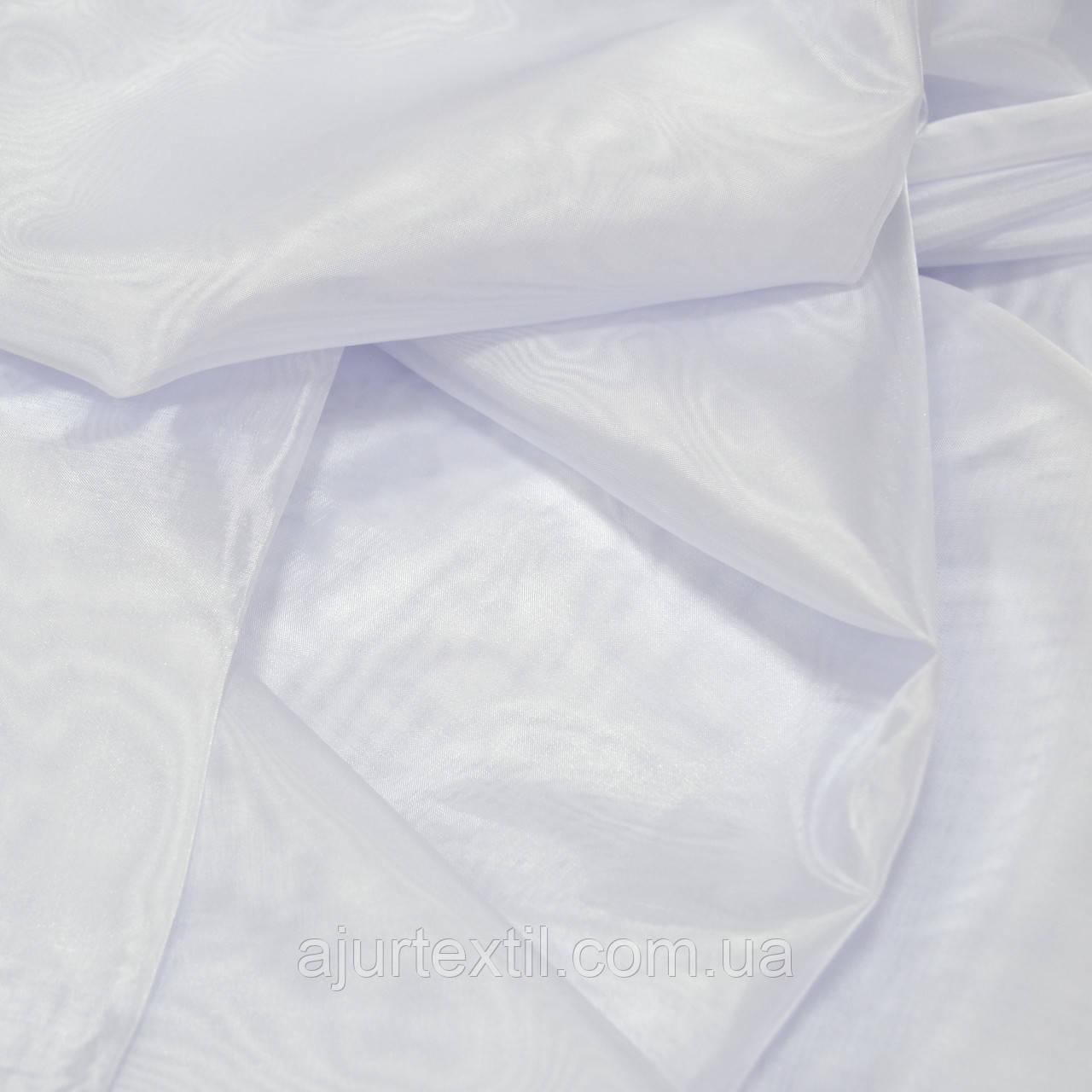 Тюль микрокристал белая