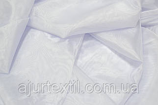 Тюль микрокристал белая, фото 2
