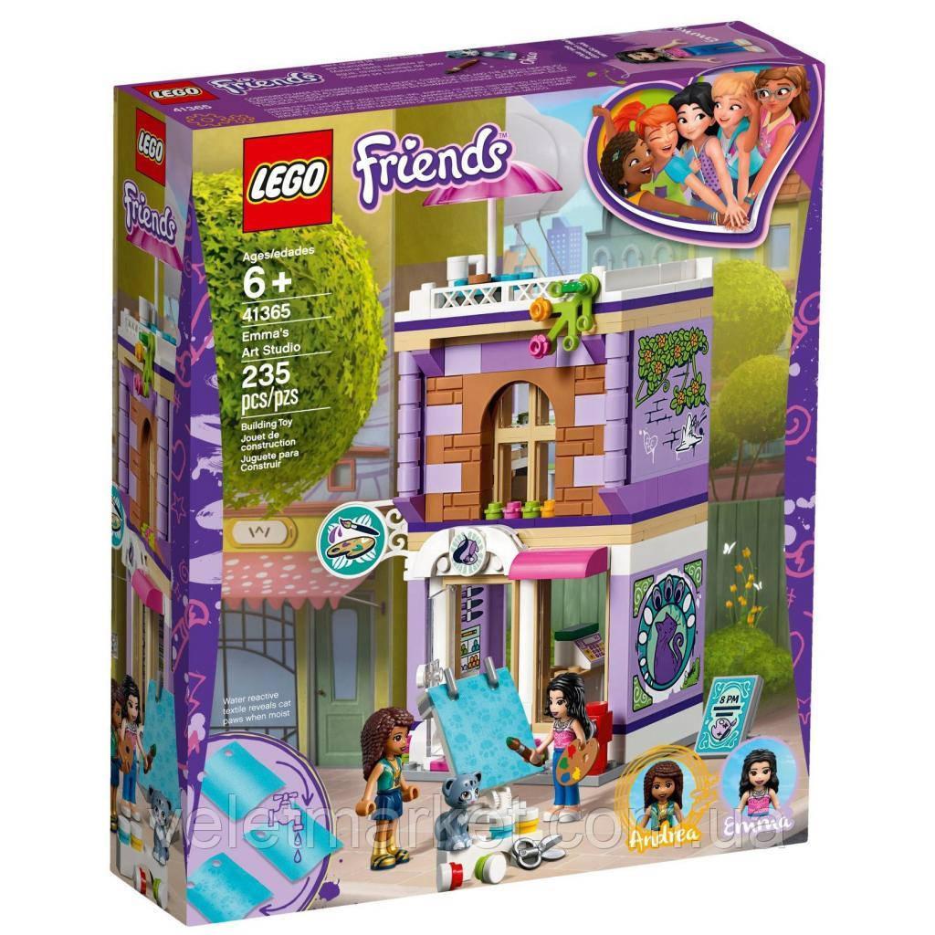 Конструктор LEGO Friends Художественная студия Эммы 235 деталей (41365)
