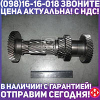 ⭐⭐⭐⭐⭐ Вал промежуточный КПП ГАЗ 3302 5 ступенчатая без подшипника (Дорожная Карта)  3302-1701310