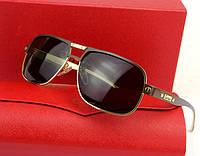 Солнцезащитные очки Cartier (0689) gold