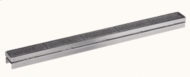 HL050I/60 Решётка из нержавейки под плитку для канала 600мм