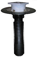 HL69B/1 Ремонтная воронка для эксплуатируемой кровли DN110. Проходная - 148х148мм/137х137мм.