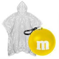Дождевик-пончо в шаре M&M's