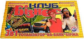 """Настольная игра Технок """"Бизнес клуб"""""""