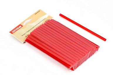 Трубочка пластиковая фрешная без изгиба разных цветов L 200 мм (уп 100 шт) EM0241