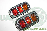 Защита, накладка задних фонарей УАЗ 469, 452 (пластик) К-Т