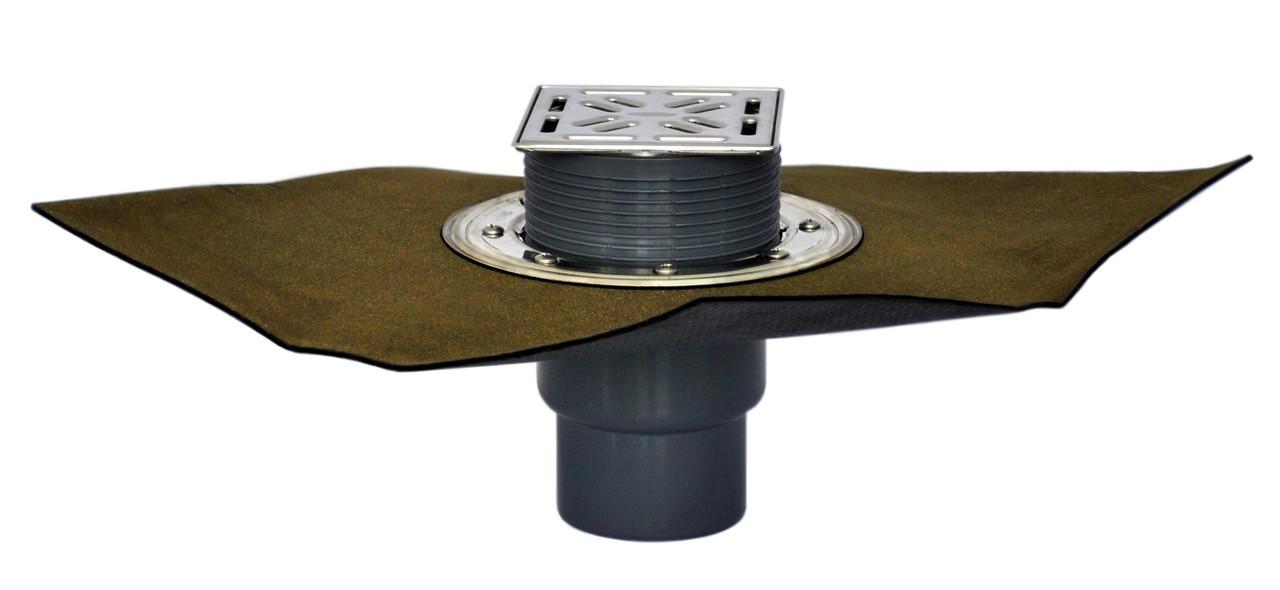 HL3100TH Вертикальный трап для террас и балконов с полимербитумным полотном