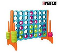 Семейная стратегическая игра, Mega 4 in Line, FEBER 11460, фото 1