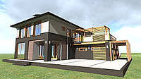 Проект коттеджа. Архитектурное проектирование домов
