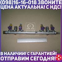 ⭐⭐⭐⭐⭐ Топливопровод ГАЗ дв.4216 ЕВРО-2 (рампа, с форсунками) (производство  ПЕКАР)  4216.1104010