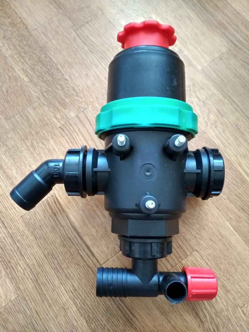 Фильтр  опрыскиватель с клапаном