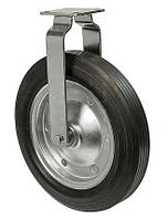 Колеса неповоротные Серия 38 Norma High с крепежной панелью Диаметр: 320мм., фото 1