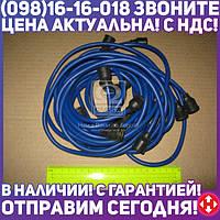 ⭐⭐⭐⭐⭐ Провод зажигания ЗИЛ 130 силикон синий 9шт. (пр-во Украина) 130-3706371