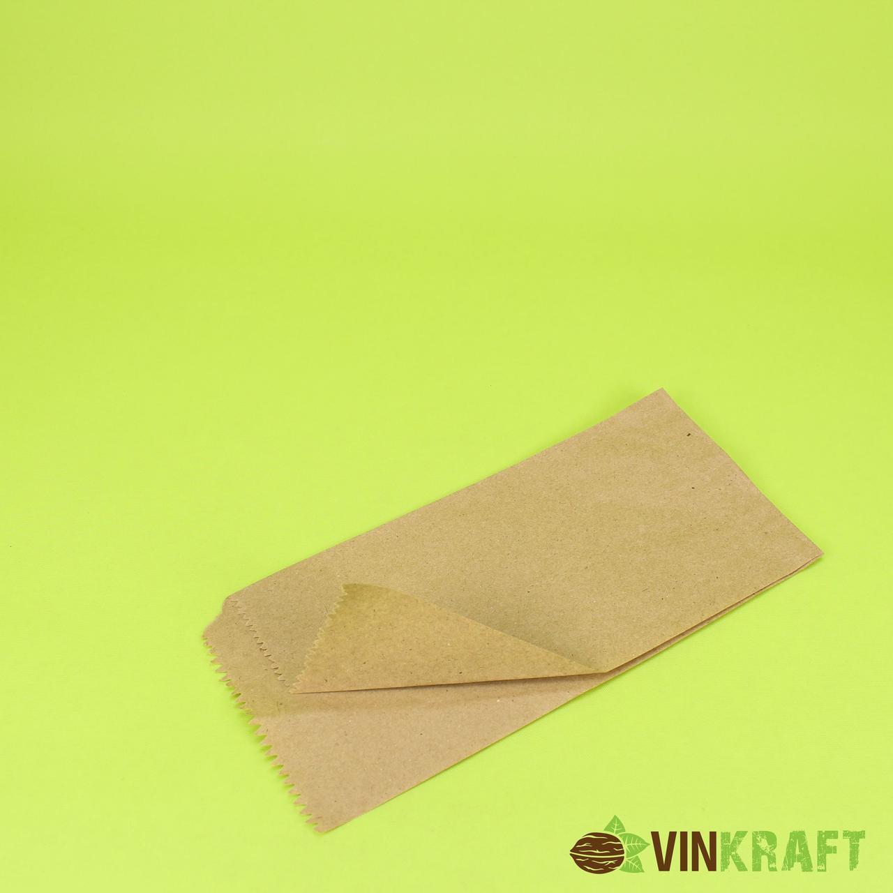 Куточок паперовий 100*220 (40 г/м2 ), коричневий (100 шт)
