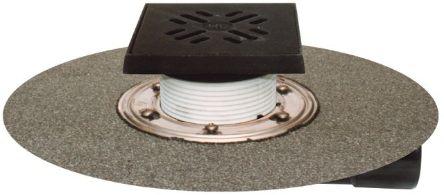 Трап для балконов и террас Hutterer & Lechner DN50/75 с морозоустойчивой запахозапирающей заслонкой HL81GH