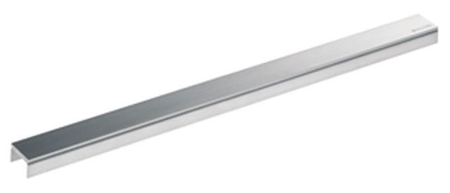 """HL050D/130 Решётка серии """"ДИЗАЙН"""" из нерж. стали - матовая, подходящая для душевого лотка длиной 1300 мм"""