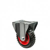 Колеса неповоротные Серия 38 Norma с крепежной панелью Диаметр: 200мм.