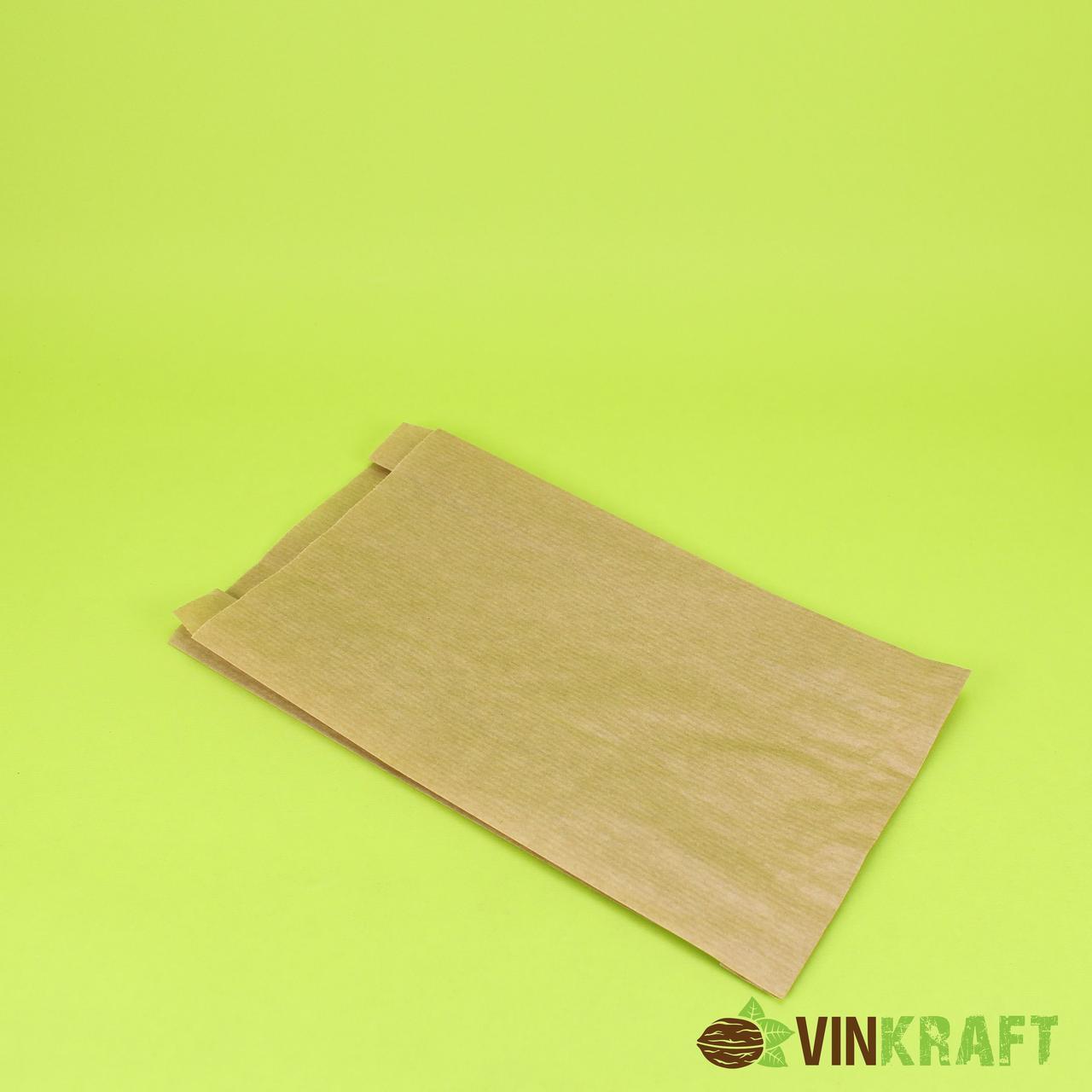 Паперовий пакет 140*60*280 (40 г/м2), крафт