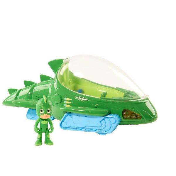 Just Play PJ Masks Герои в масках набор Гекко с большим геккомобилем Gekko Mobile Deluxe Vehicle