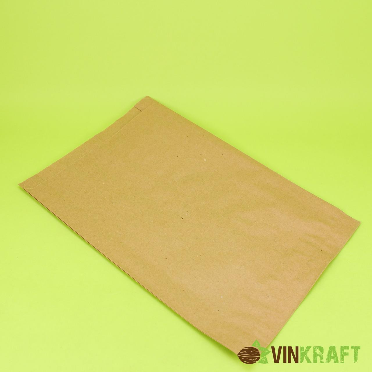 Паперовий пакет 220*60*380 (40 г/м2), крафт