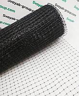 Cетка газоная от кротов 1х50 м пластиковая (черная).