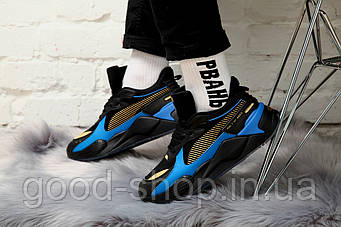 Мужские кроссовки PUMA x HOT WHEELS RS-X Toys 16 Trainers (люкс копия)
