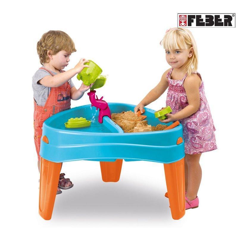 Столик для игр с водой и песком Feber 10238. Водный столик., фото 1